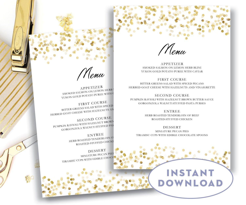 009 Template Ideas Wedding Menu Card Magnificent Templates Free - Free Printable Wedding Menu Card Templates
