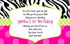 015 Free Printable 40Th Birthday Partyion Templates And Ideas Zebra – Free Printable Animal Print Birthday Invitations