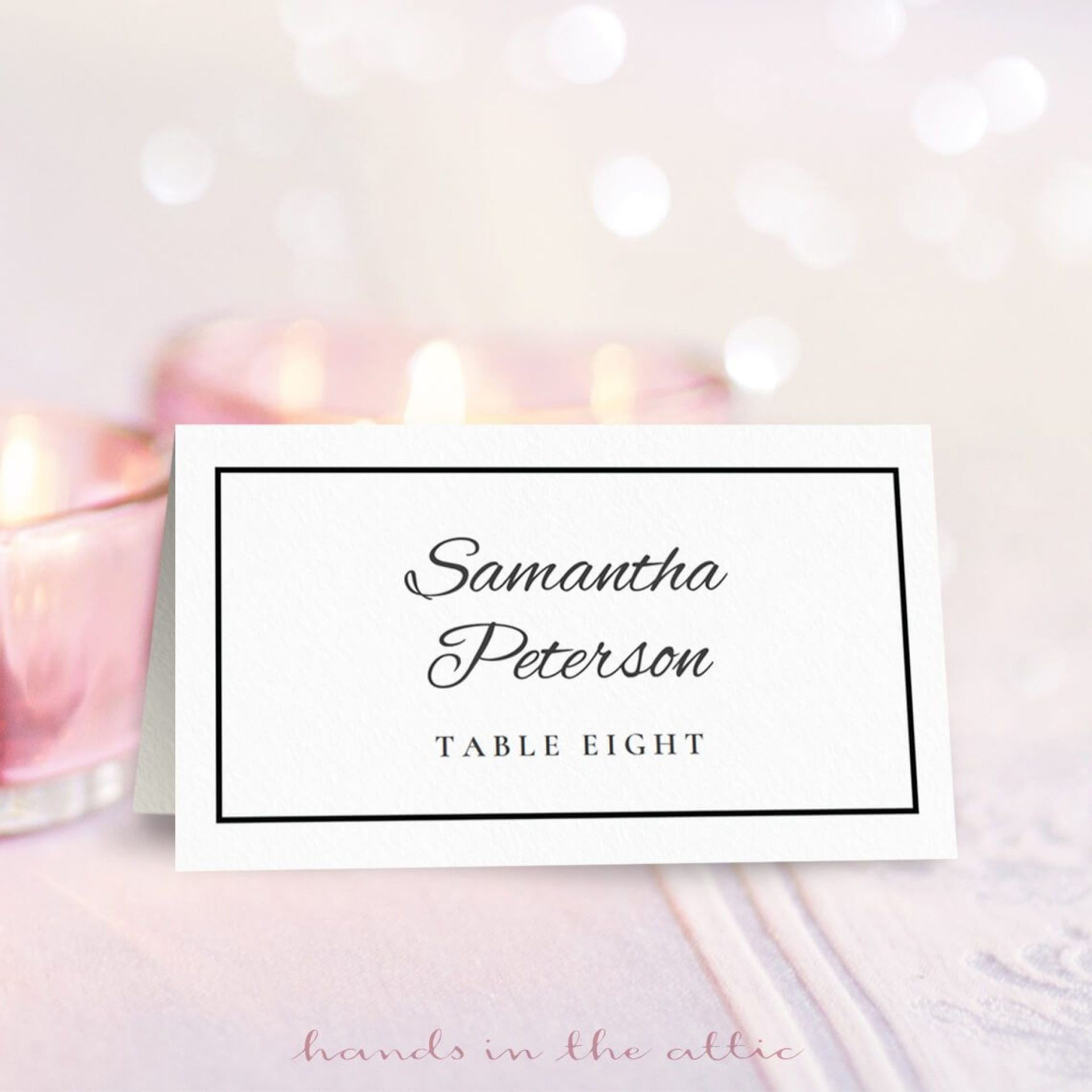 015 Free Printable Place Cards Template Tent Templates Awesome Table - Free Printable Place Cards Template