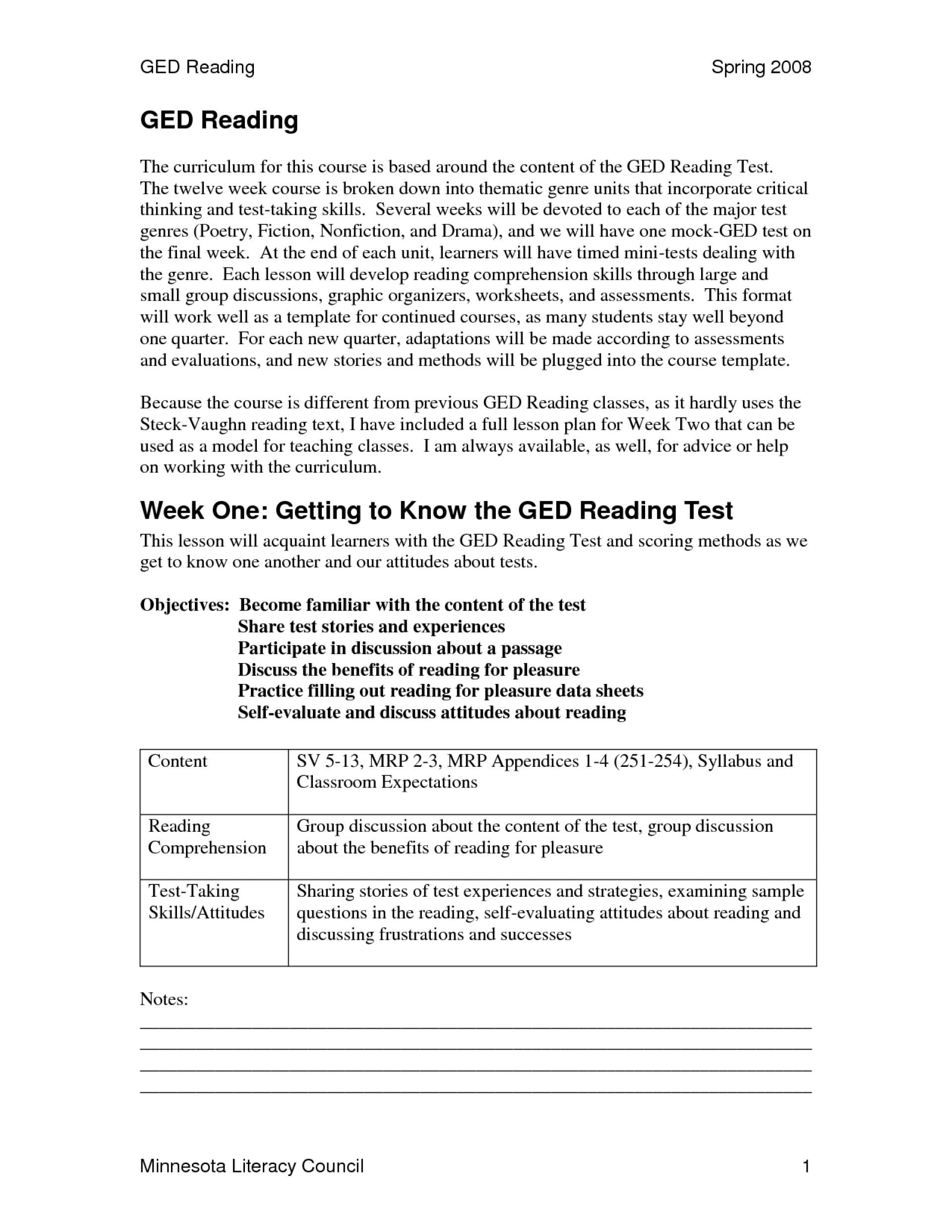 016 Essay Example Ged Practice Test Printable Worksheets 108850 How - Free Printable Ged Practice Test With Answer Key 2017