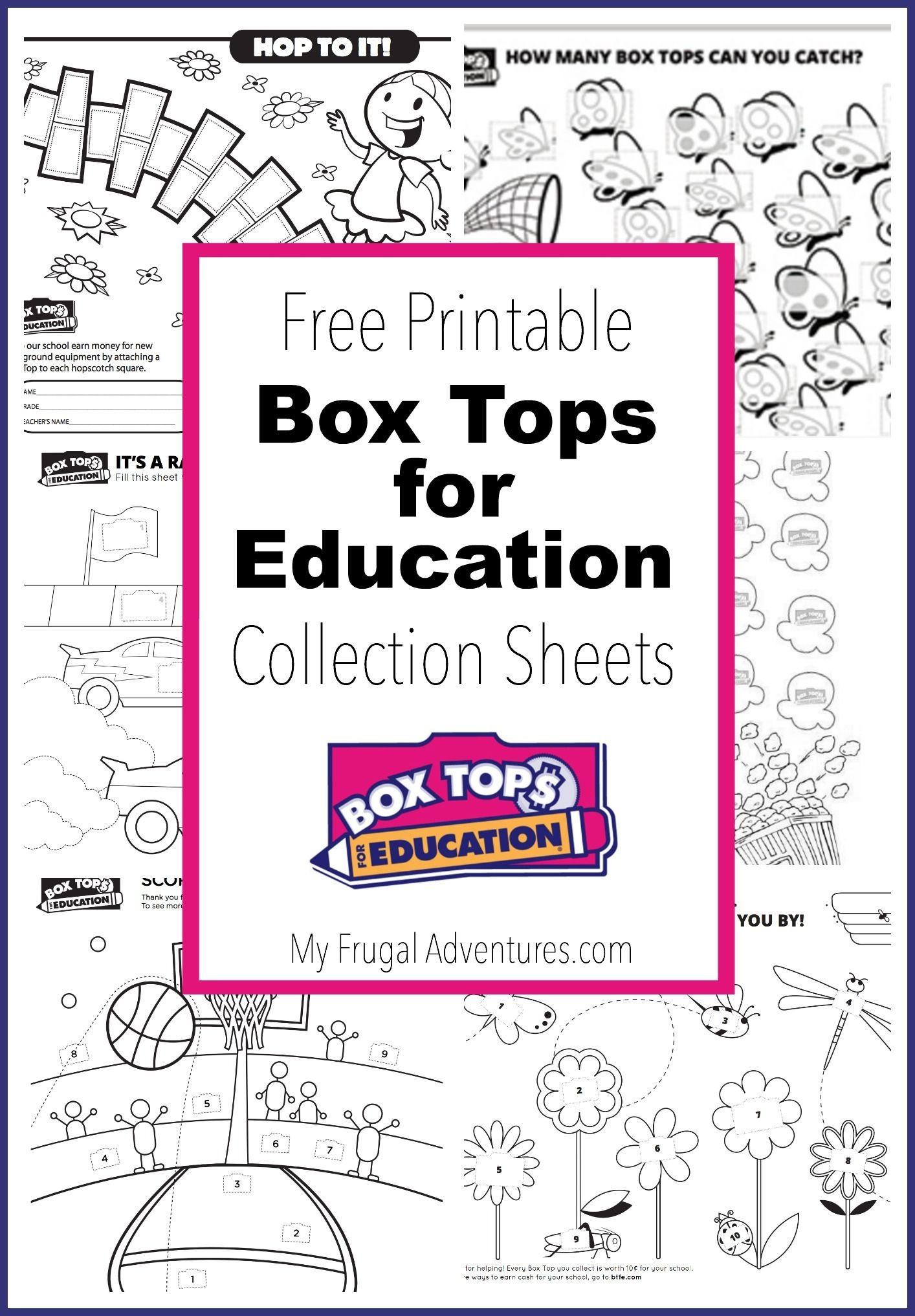 10 Printable Box Tops For Education Collection Sheets   Box Tops - Free Printable Box Tops For Education