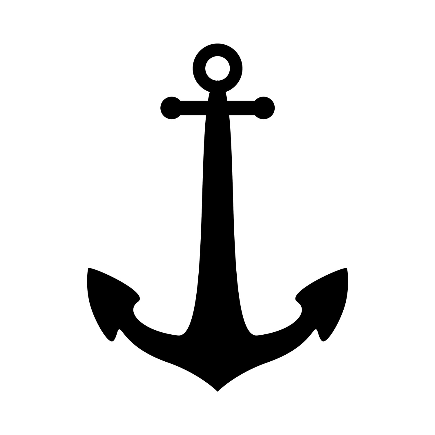 12 Best Photos Of Free Anchor Stencil Printable Template - Free - Free Printable Anchor Template