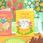 12 Free, Printable Easter Cards For Everyone You Know   Free Printable Easter Cards For Grandchildren