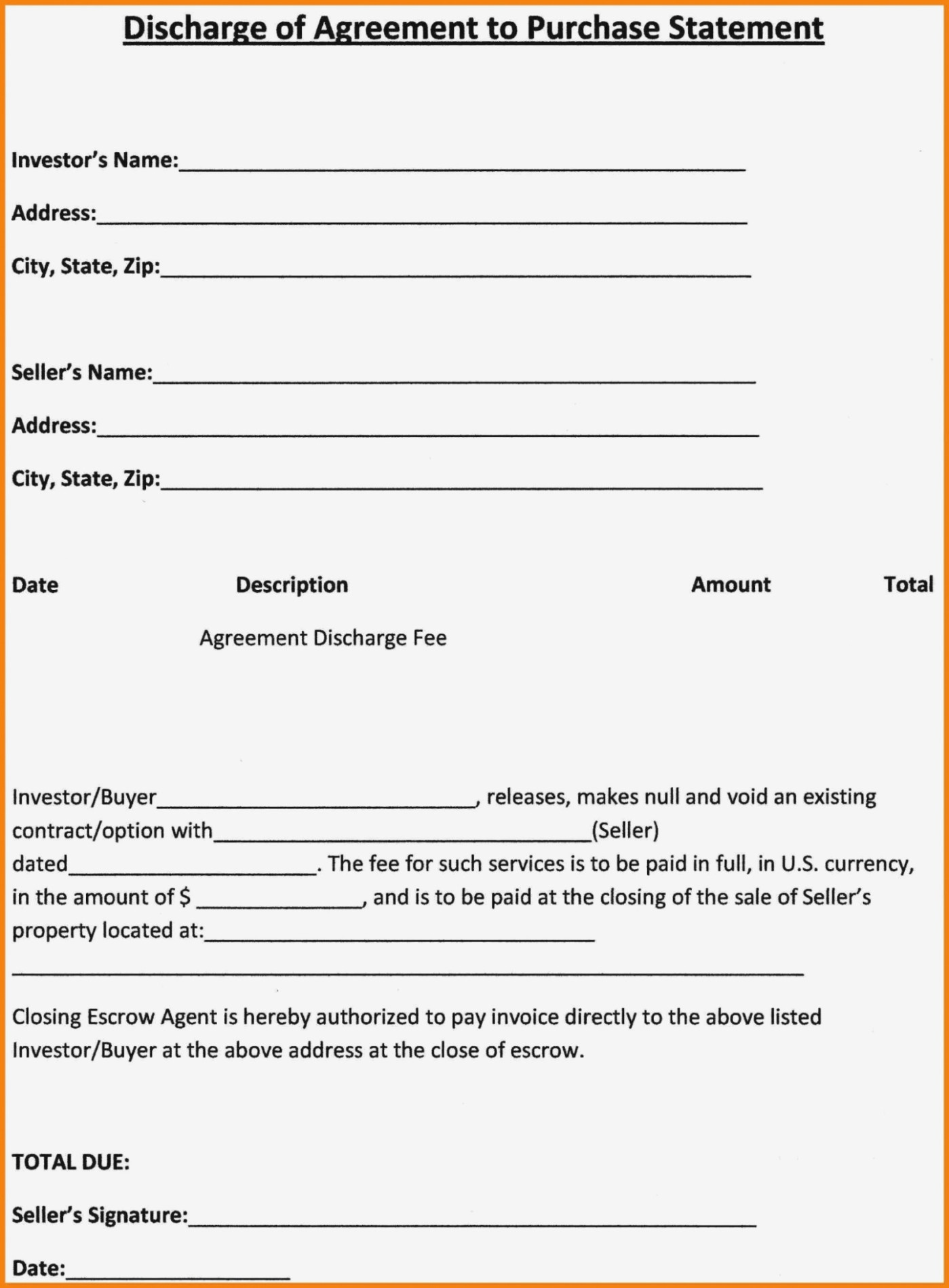 13 Latest Tips You Can Learn When Attending | Form Information - Free Printable Purchase Agreement Template