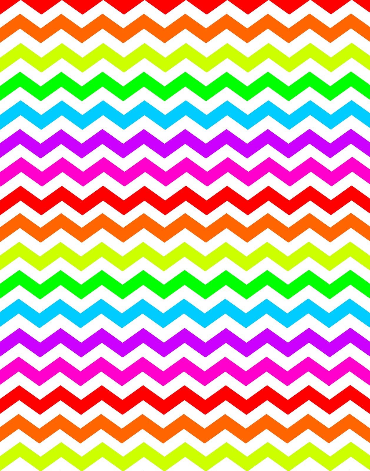 16 New Colors Chevron Background Patterns! - Chevron Pattern Printable Free