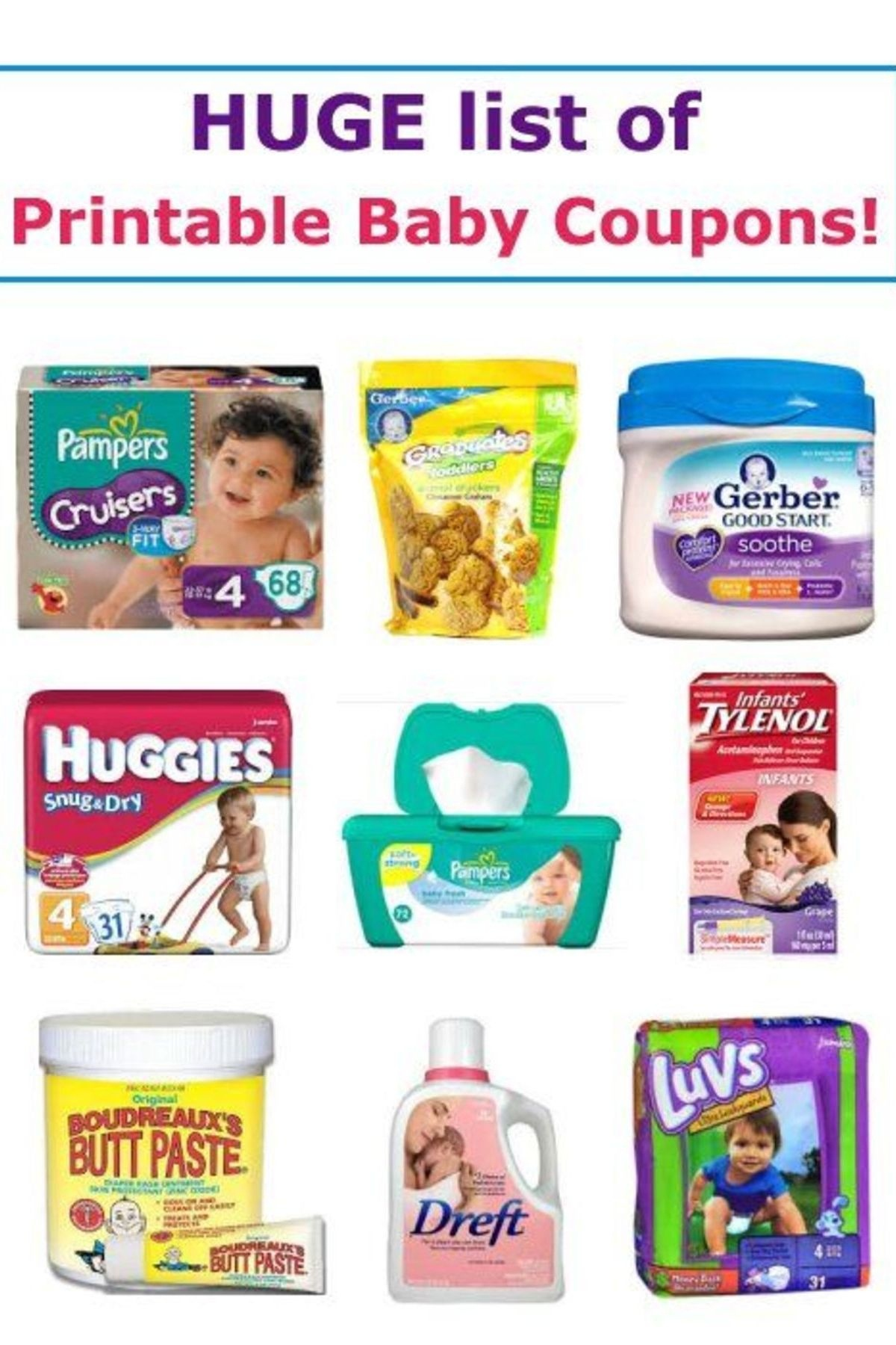 17 Printable Baby Coupons | Baby On A Budget | Baby Coupons, Baby - Free Printable Similac Baby Formula Coupons
