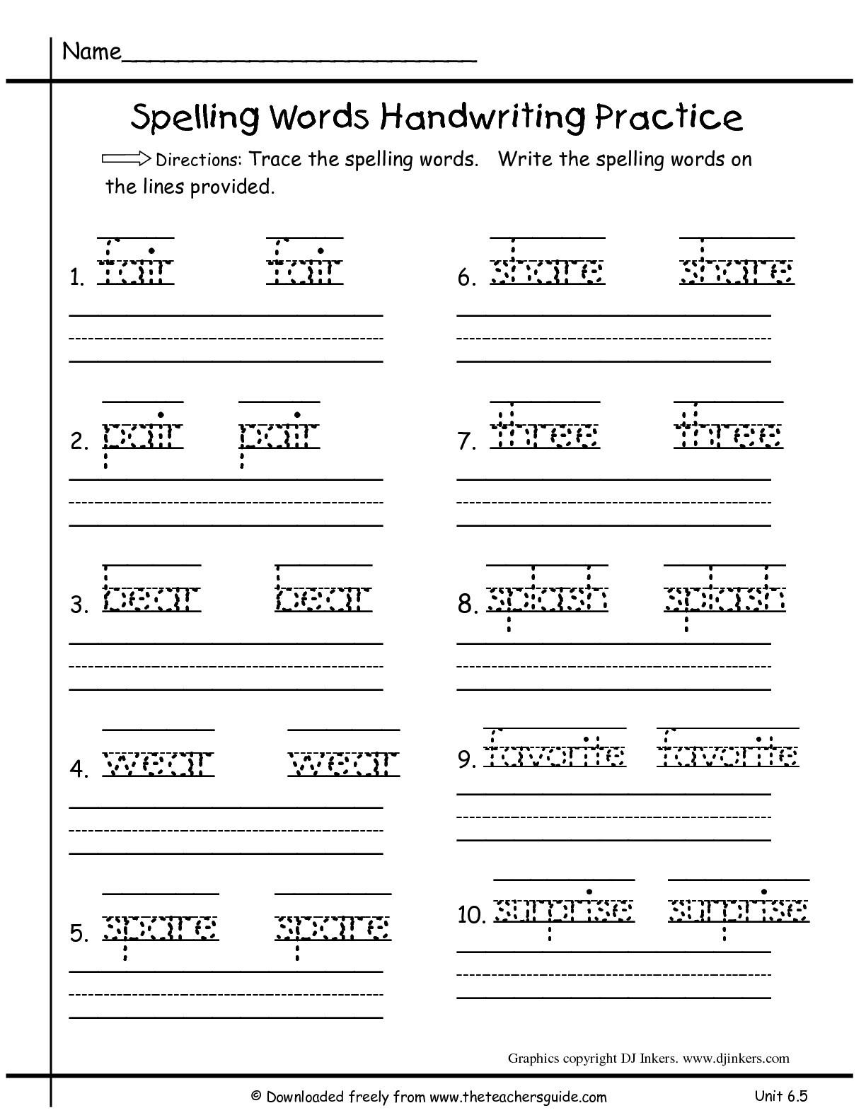 1St Grade Language Arts Worksheets To Free Download - Math Worksheet - Free Printable Worksheets For 1St Grade Language Arts