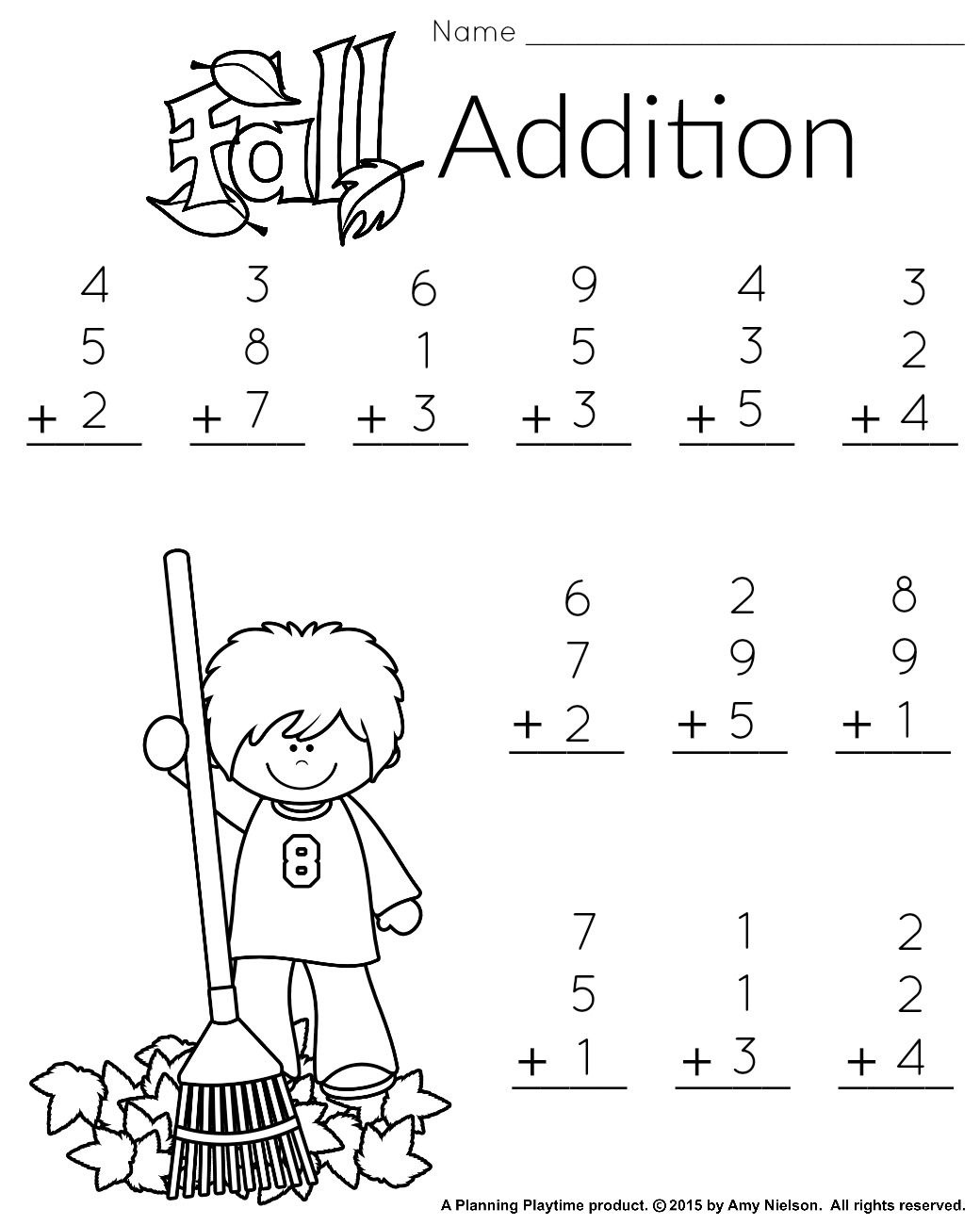 1St Grade Math And Literacy Worksheets With A Freebie! | Teachers - Free Printable Worksheets For 1St Grade Language Arts