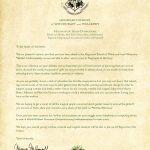 20 Beautiful Hogwarts Acceptance Letter Envelope Template Printable   Hogwarts Acceptance Letter Template Free Printable