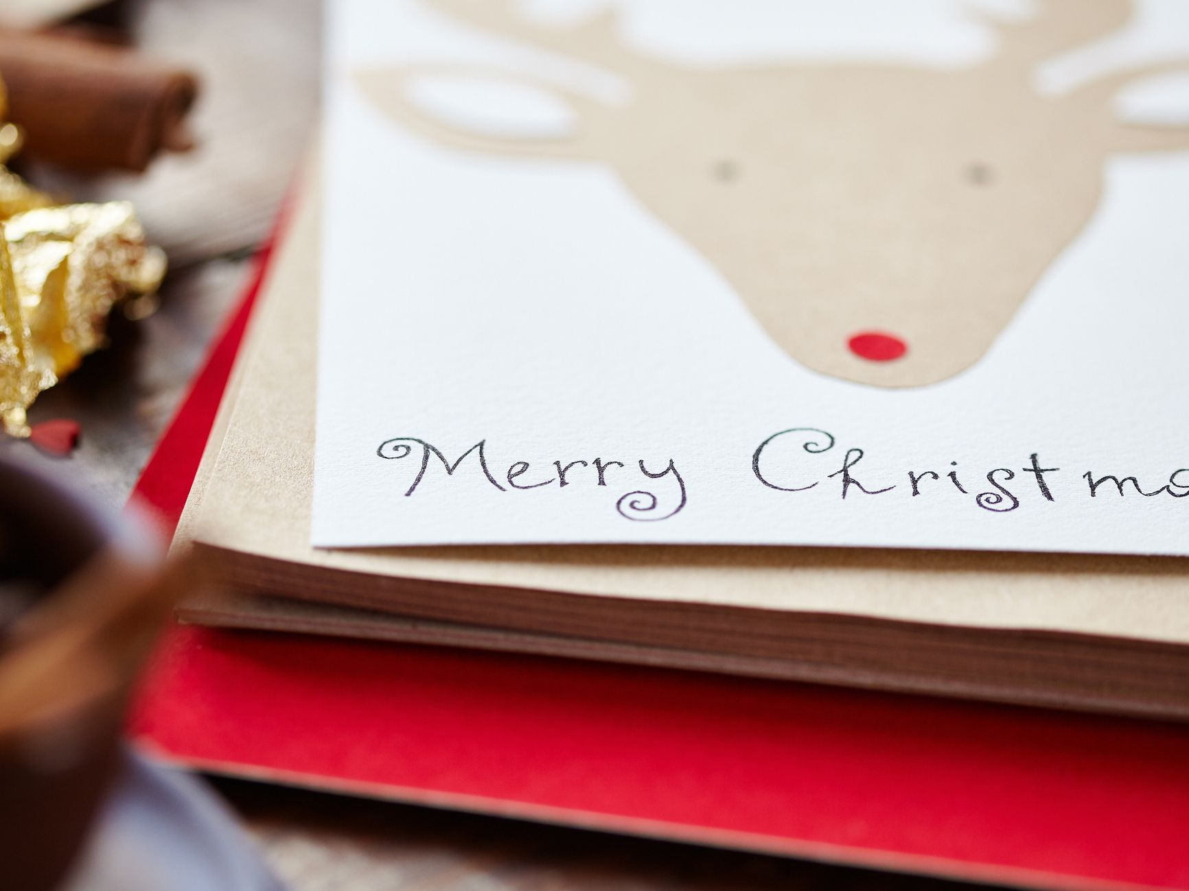 21 Free, Printable Christmas Cards To Send To Everyone - Free Printable Quarter Fold Christmas Cards