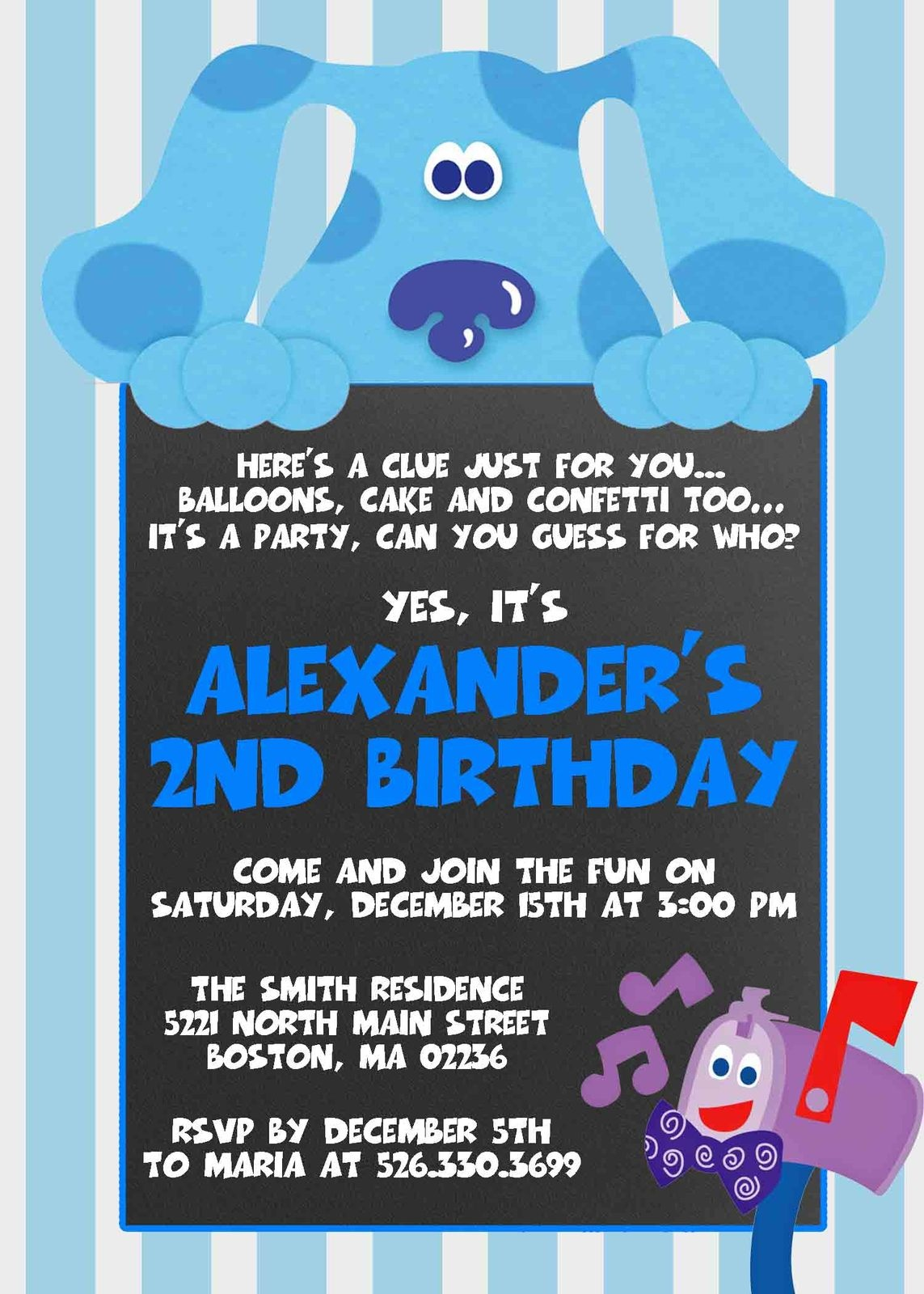 26 Unique Blues Clues Baby Shower - Baby Shower - Blue's Clues Invitations Free Printable