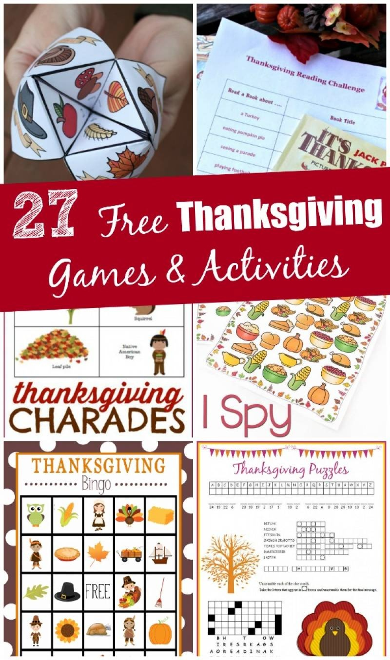 27 Free Thanksgiving Games & Activities (Printable) - Edventures - Free Printable Thanksgiving Games For Adults