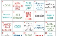 30 Days Of Stem Challenges – Free Printable! – Life Of A Homeschool Mom – Free Printable Stem Activities