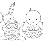 """33 """"happy Easter Coloring Pages"""" Free Printable Pictures For Kids   Free Printable Easter Drawings"""
