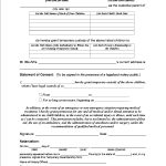 4 Free Printable Forms For Single Parents   Karla's Personal   Free Printable Temporary Guardianship Form