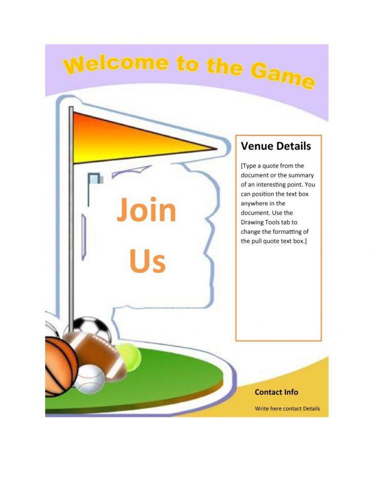 Free Printable Flyer Templates