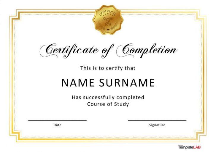Free Printable Certificates Of Achievement
