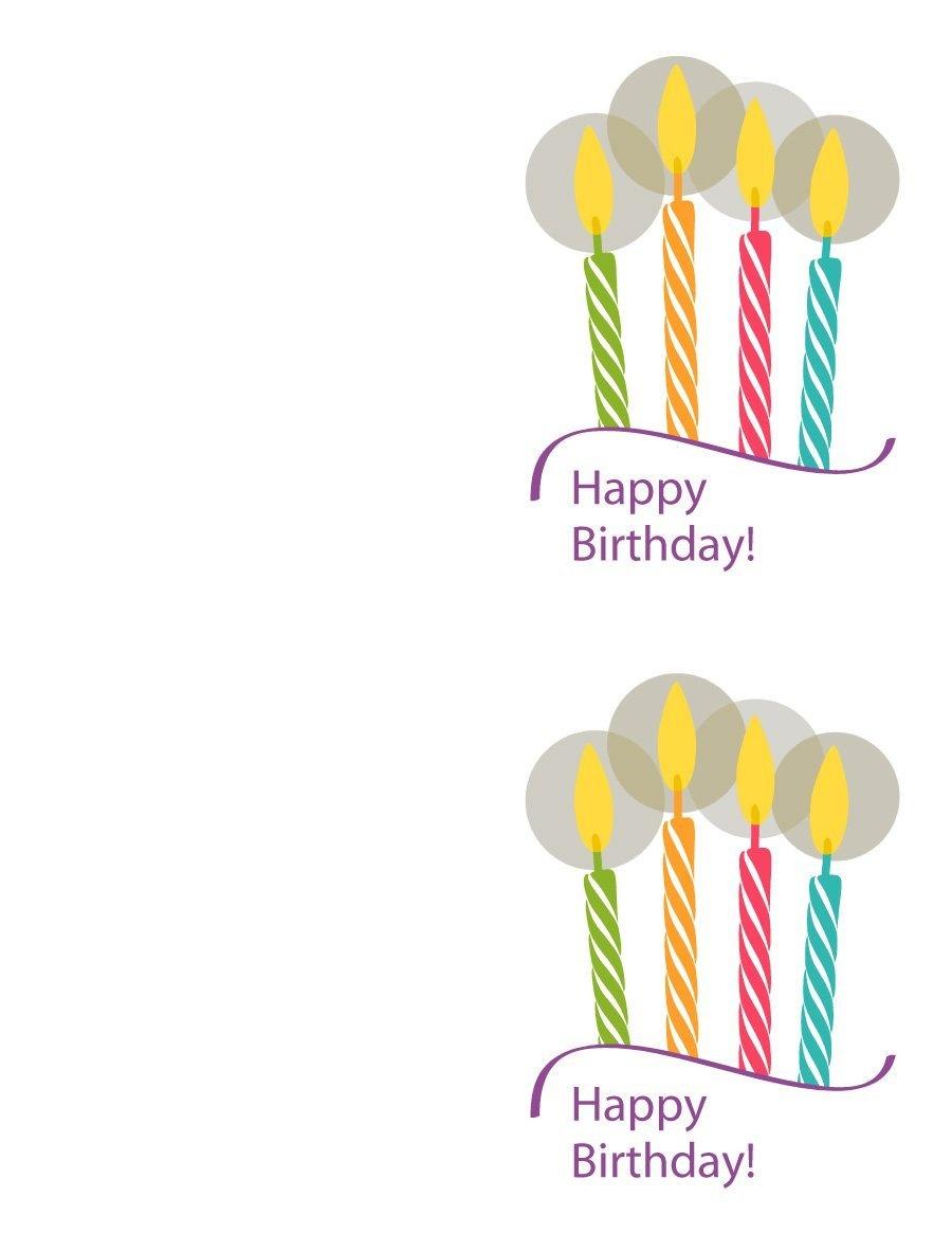 40+ Free Birthday Card Templates ᐅ Template Lab - Free Printable Birthday Cards For Boys