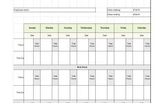 40 Free Timesheet / Time Card Templates ᐅ Template Lab – Free Printable Time Sheets Forms