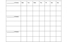 43 Free Chore Chart Templates For Kids ᐅ Template Lab – Free Printable Chore List