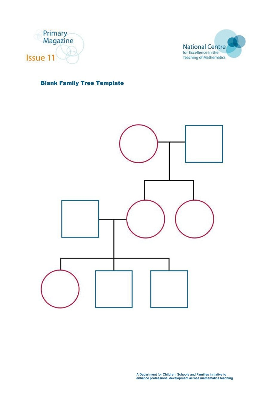 50+ Free Family Tree Templates (Word, Excel, Pdf) ᐅ Template Lab - Family Tree Maker Online Free Printable
