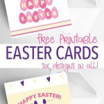 6 Free Printable Easter Cards Every Bunny Will Love | Holidays   Free Printable Easter Cards For Grandchildren