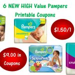 6 Pampers Printable Coupons ~ Print Now! $9 In Savings!   Free Printable Coupons For Baby Diapers