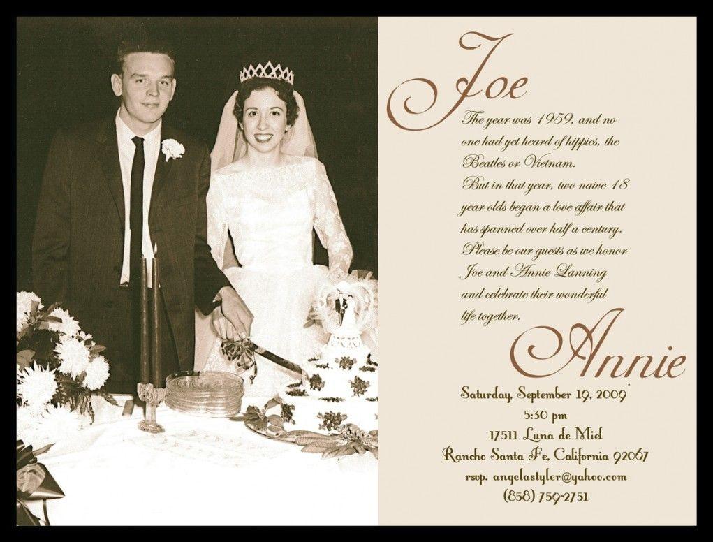 60Th Anniversary Invitation Free Templates - Google Search | 60Th - Free Printable 60Th Wedding Anniversary Invitations