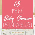 65 Free Baby Shower Printables For An Adorable Party   Free Printable She's Ready To Pop Labels