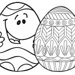 7 Places For Free, Printable Easter Egg Coloring Pages   Free Printable Easter Drawings