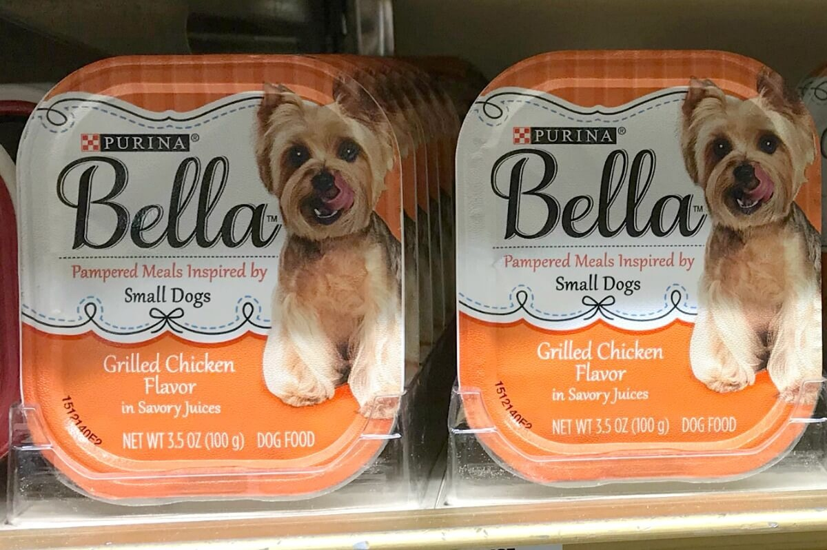 $8 In New Purina Bella Dog Food Coupons - Bella Trays Only $0.31 At - Free Printable Dog Food Coupons