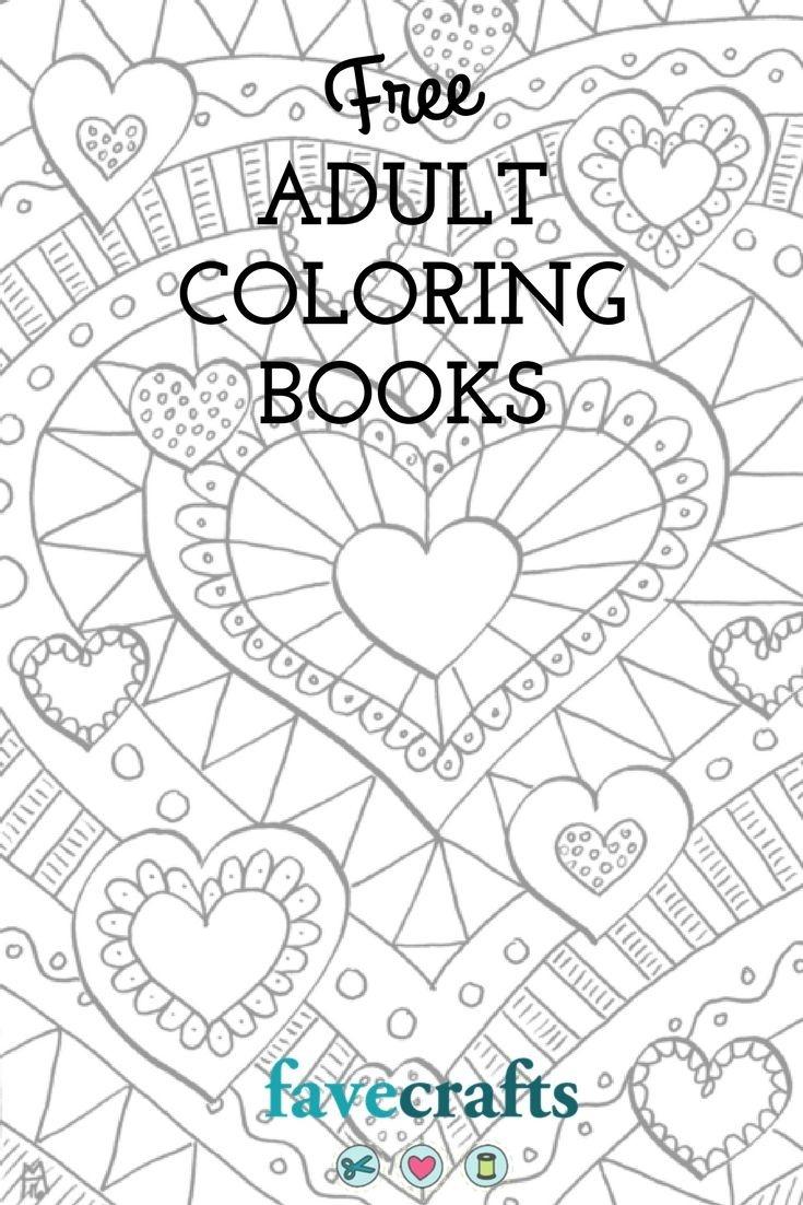 9 Free Printable Coloring Books (Pdf Downloads) | Free Adult - Free Printable Coloring Pages For Adults Pdf