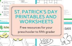 Access More Than A Hundred St. Patrick's Day Worksheets And – Free Printable St Patrick Day Worksheets