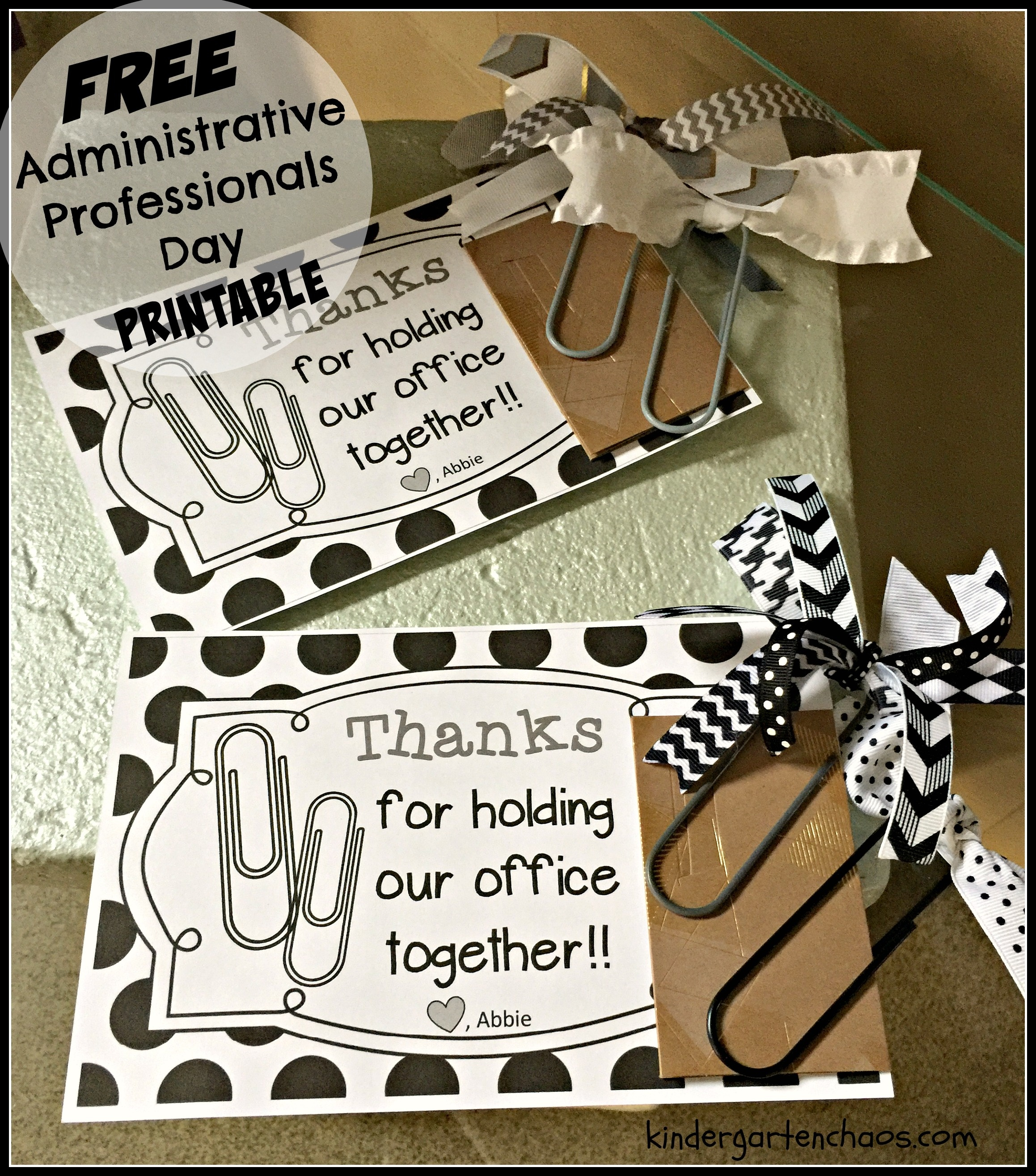 Administrative Professionals Day - Administrative Professionals Cards Printable Free