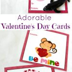 Adorable Preschool Valentine's Day Cards (Free Printables)   Natural   Free Printable Valentines Day Cards For Parents