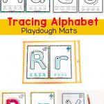 Alphabet Tracing Mats   Play Dough Mats   Alphabet Letter Activities   Alphabet Playdough Mats Free Printable