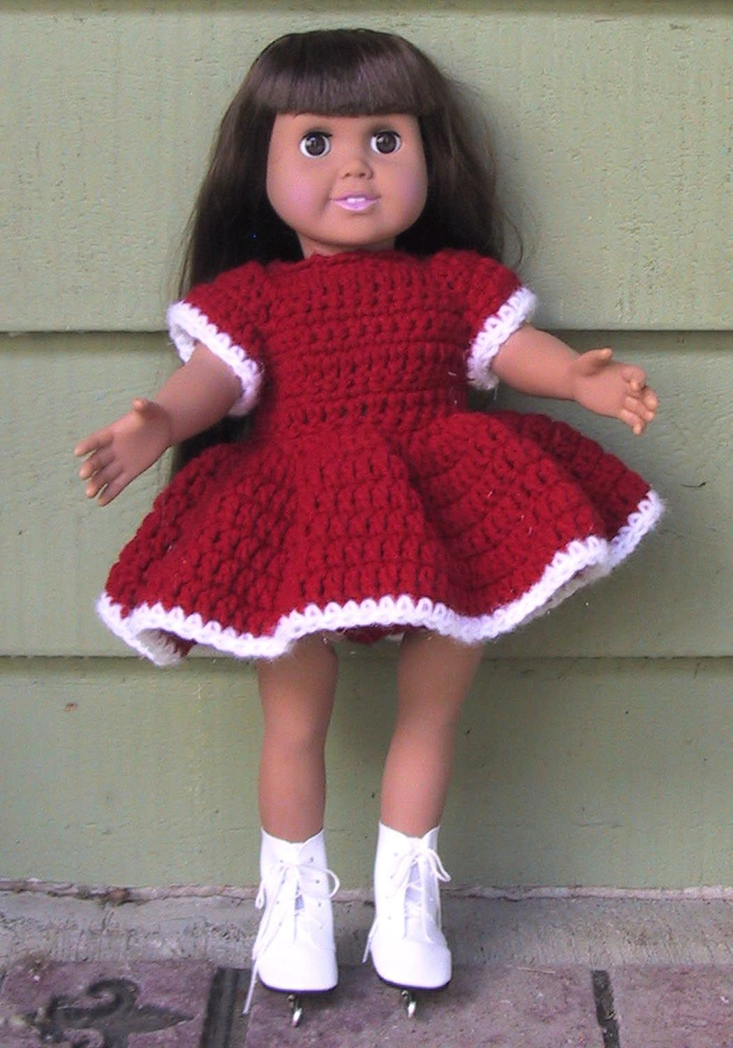 American Girl Dolls And 18 Inch Doll Clothes Free Crochet Patterns - Free Printable Crochet Doll Clothes Patterns For 18 Inch Dolls