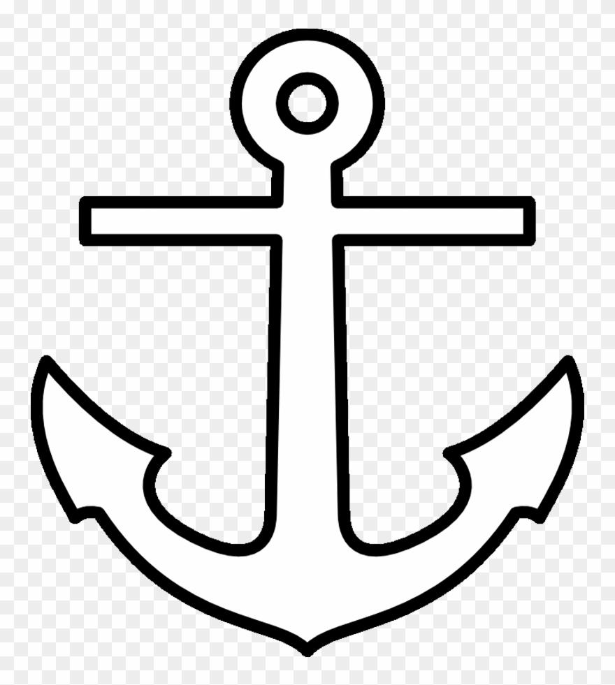 Anchor Printable Pattern - Printable Anchor Template Clipart (#10369 - Free Printable Anchor Template