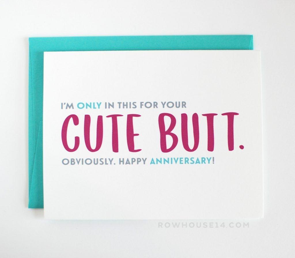 Anniversary. Free Printable Funny Anniversary Cards Design Template - Free Funny Printable Cards