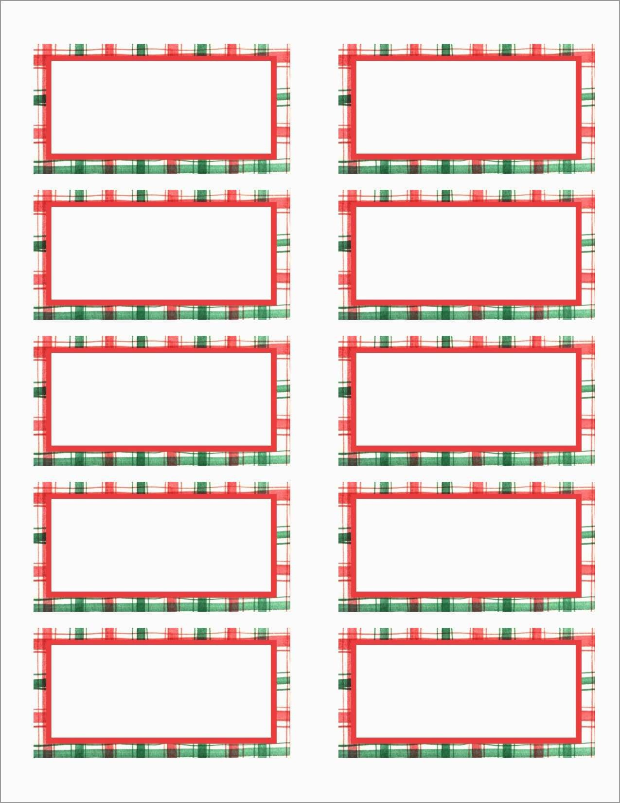 Awesome Free Holiday Return Address Label Template | Best Of Template - Free Printable Christmas Return Address Label Template