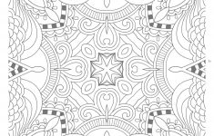 Awesome Free Printable Zentangle Templates : Coloring Pages – Free Printable Zentangle Templates