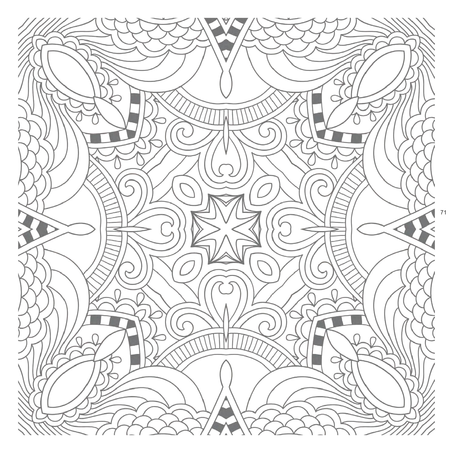 Awesome Free Printable Zentangle Templates : Coloring Pages - Free Printable Zentangle Templates