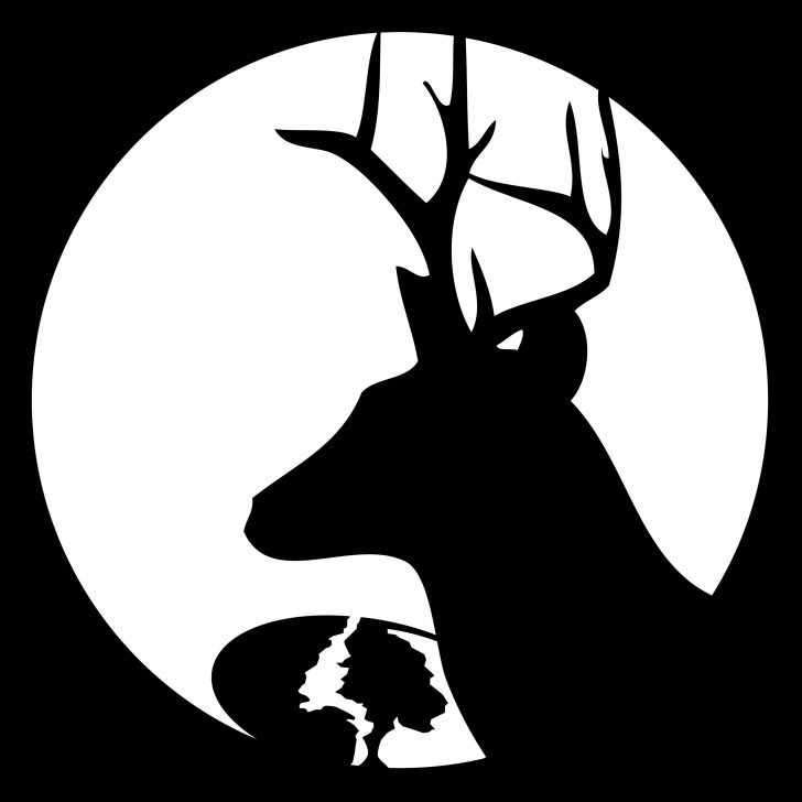 Free Printable Deer Pumpkin Stencils