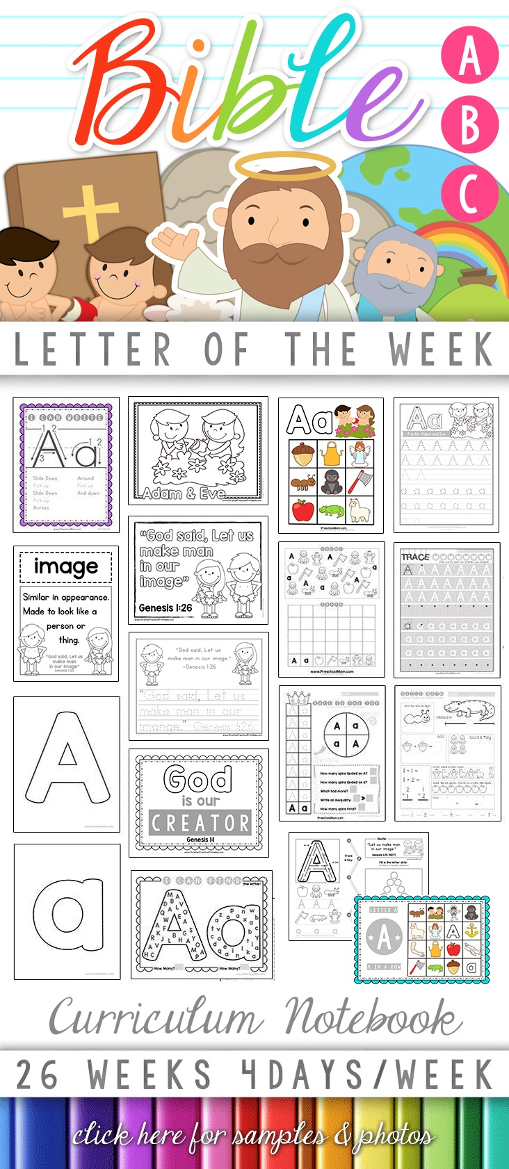 Bible Abc Printables - Christian Preschool Printables - Free Printable Bible Bingo For Preschoolers