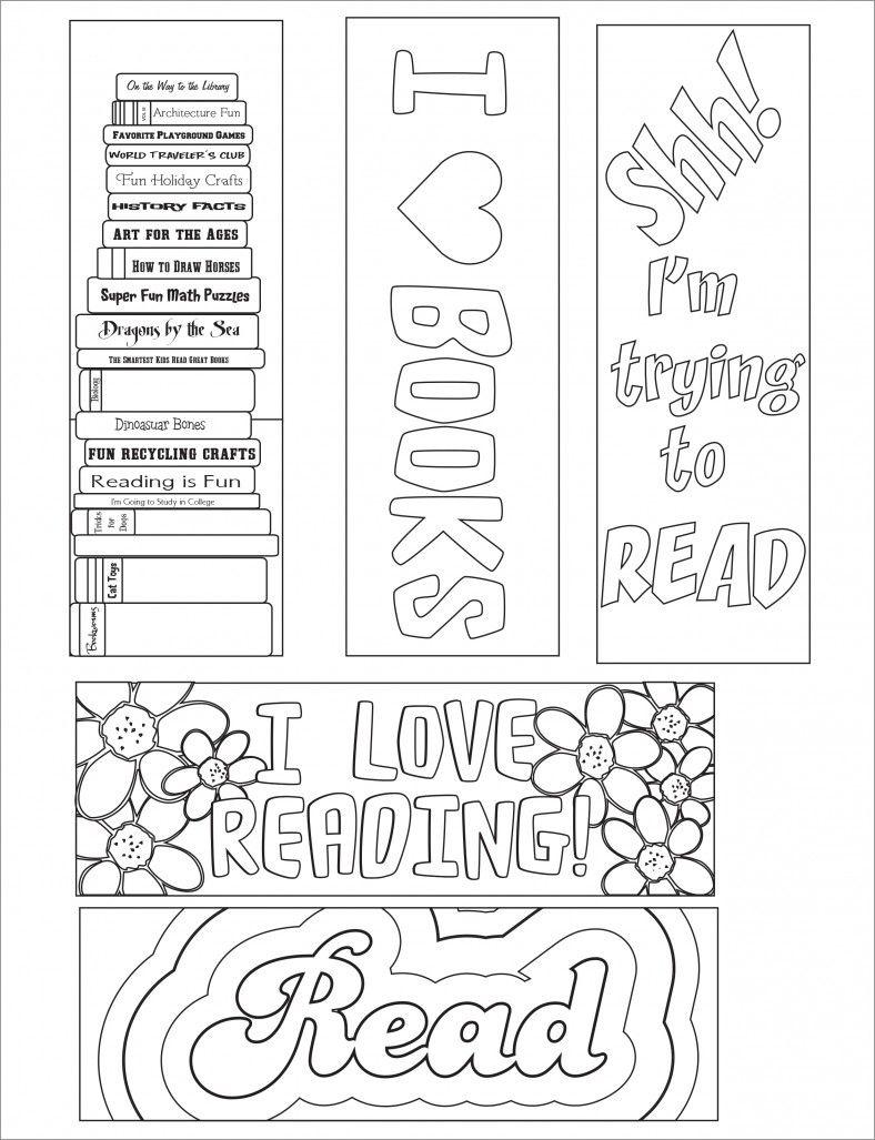 Blank Bookmark Template, Bookmark Template | Bookmarker Ideas - Free Printable Blank Bookmarks