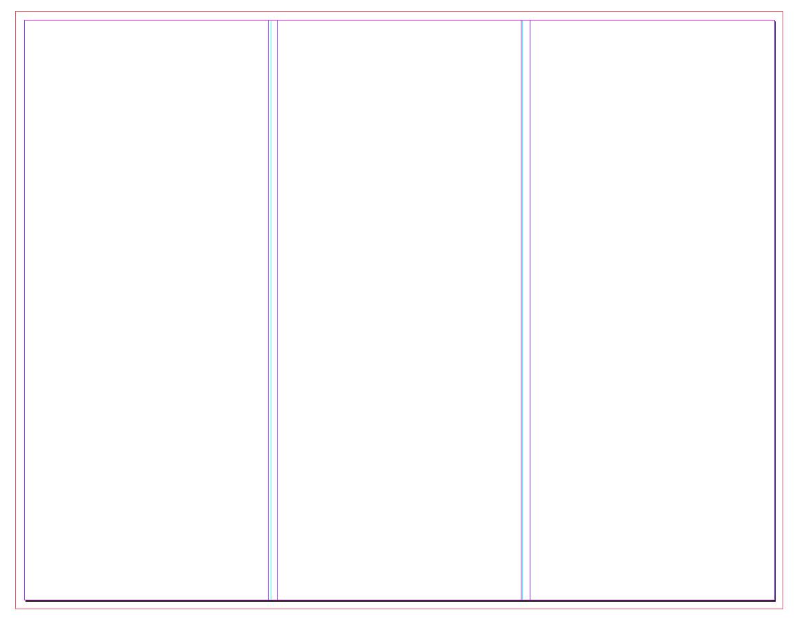 Blank Brochure Layout - Kaza.psstech.co - Free Printable Brochure Templates