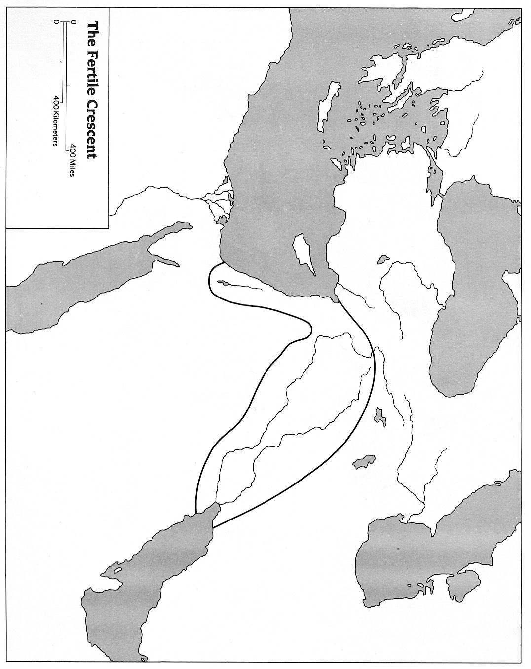 Blank Map Of Mesopotamia For Labeling   Mesopotamia For Kids   7Th - Free Printable Map Of Mesopotamia