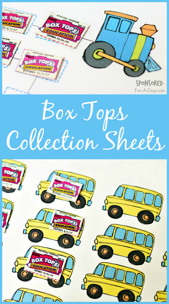 Box Tops For Education Collection Sheets   New Teachers   Box Top - Free Printable Box Tops For Education