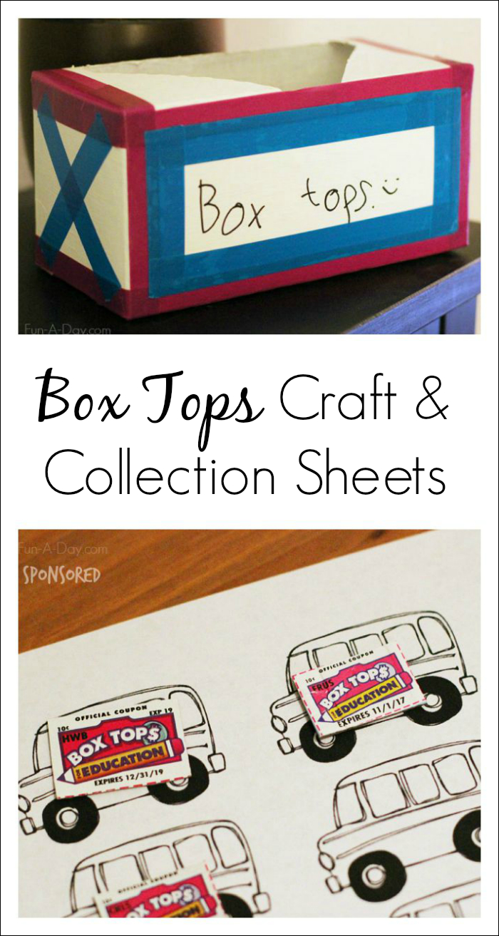 Box Tops For Education Collection Sheets   Teaching - Free Printable Box Tops For Education