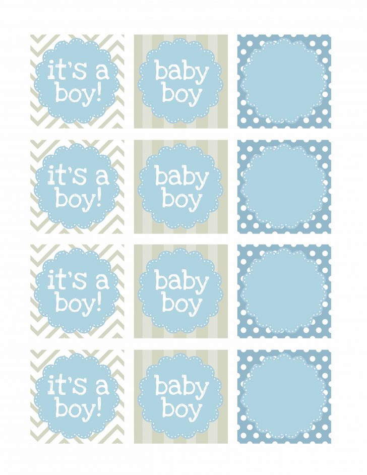 Baby Shower Bunting Free Printable